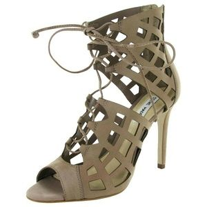 Steve Madden Sedduce Lace Up Strappy Pump Shoes